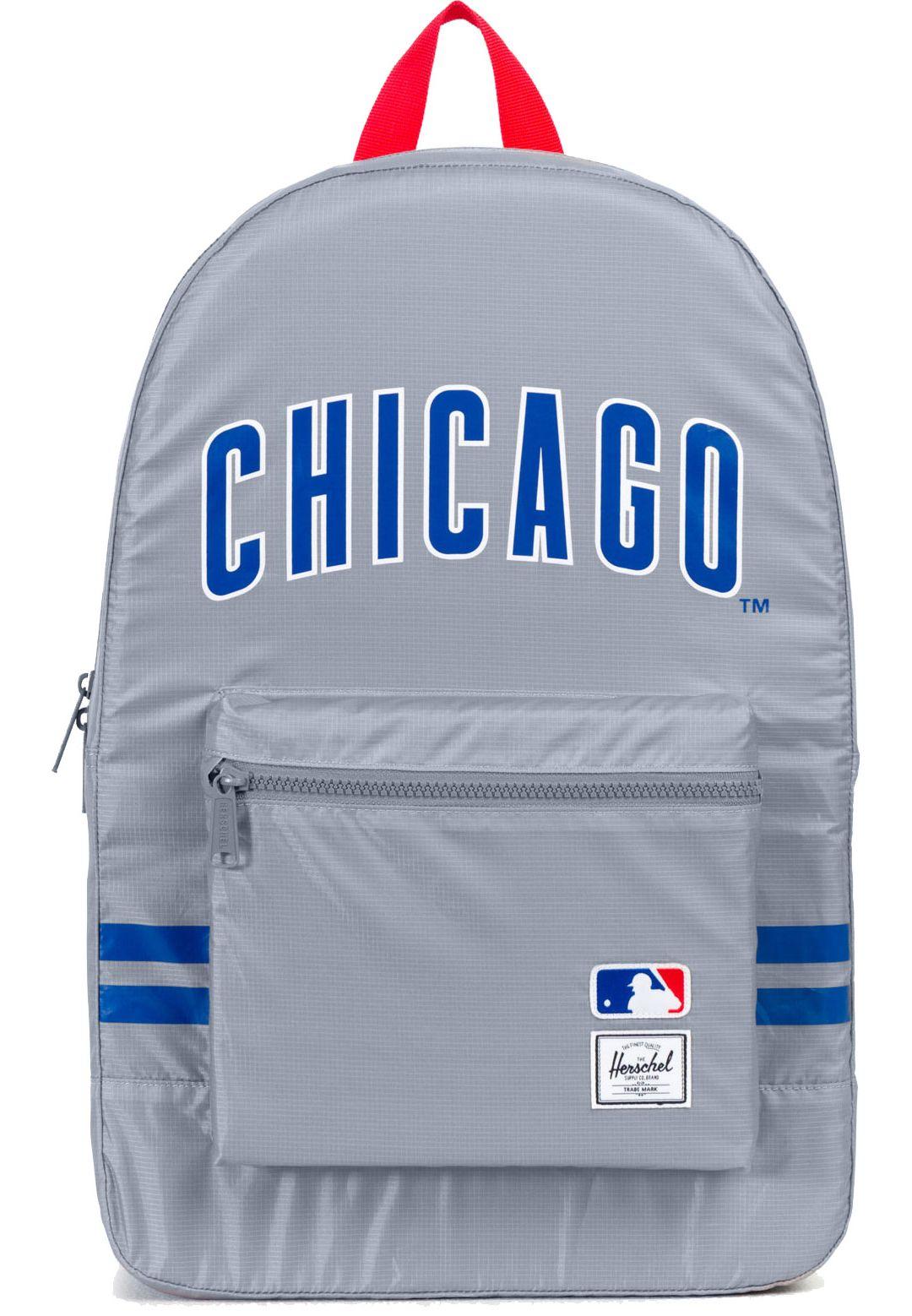 szczegóły dla urzędnik oficjalne zdjęcia Herschel Chicago Cubs Packable Daypack Backpack