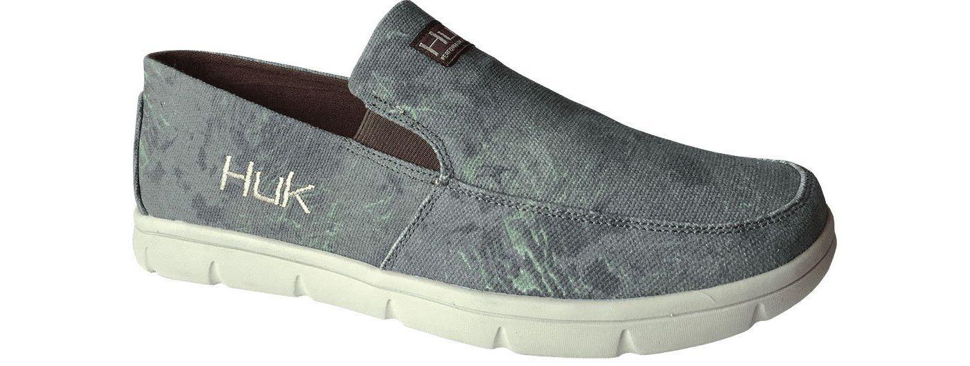 Huk Men's Brewster Boat Shoes
