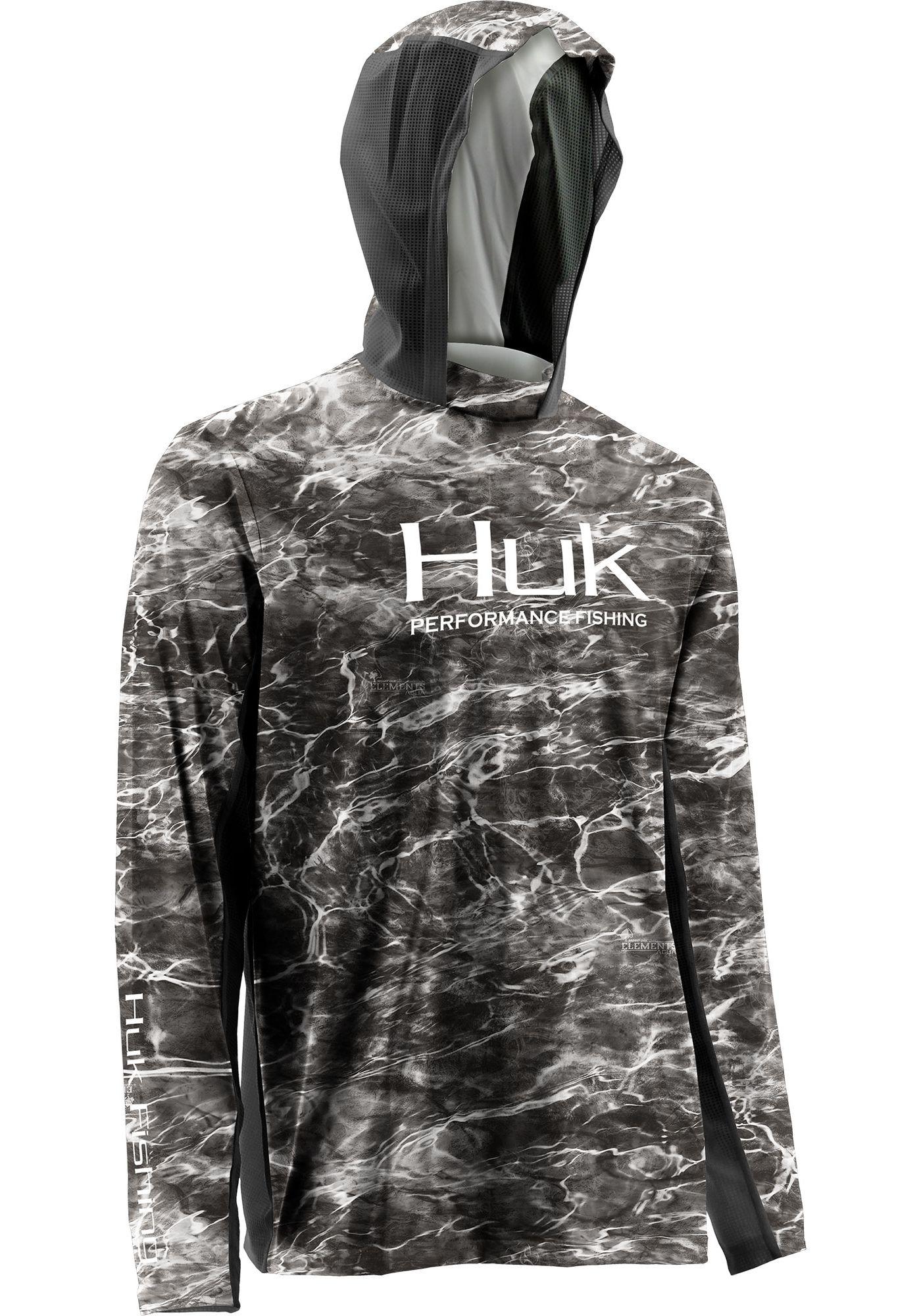 Huk Men's Elements Camo ICON Hoodie