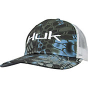 b030e8d845166 Huk Men s Kryptek Logo Trucker Hat