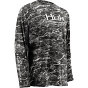 Huk Men's Elements ICON Long Sleeve Shirt