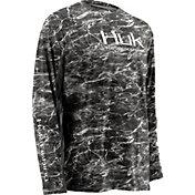 Huk Men's Elements ICON Long Sleeve Shirt
