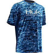 Huk Men's Elements ICON Short Sleeve Shirt