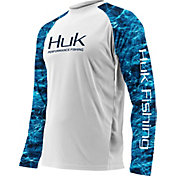 Huk Men's Performance Elements Camo Vented Long Sleeve Shirt