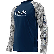 Huk Men's Performance Subphantis Double Header Vented Long Sleeve Shirt