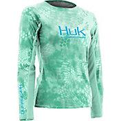 Huk Women's Kryptek ICON Long Sleeve Crew Neck Shirt