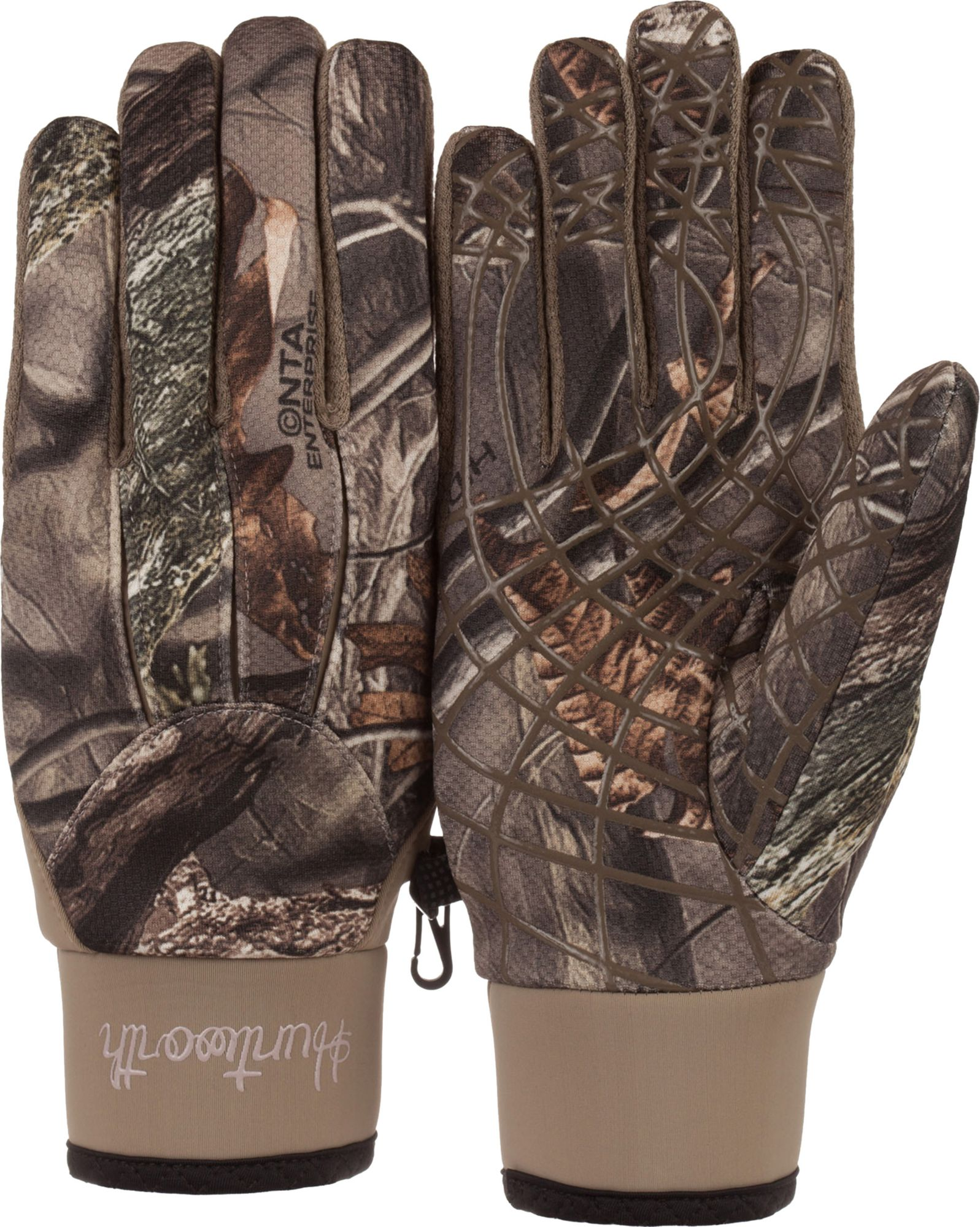 Huntworth Women's Shooter's Gloves, Brown thumbnail