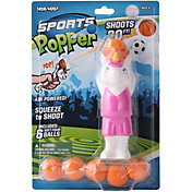 Hog Wild Unicorn Basketball Popper