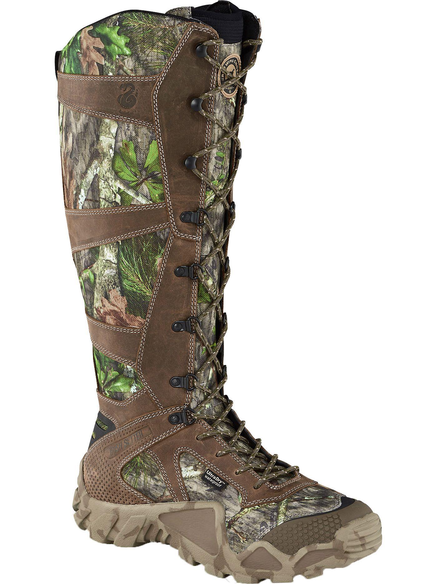 Irish Setter Men's Vaprtrek 17'' Snakeproof Waterproof Field Hunting Boots