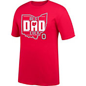 J America Ohio State Buckeyes Scarlet 'Best Dad Ever' T-Shirt