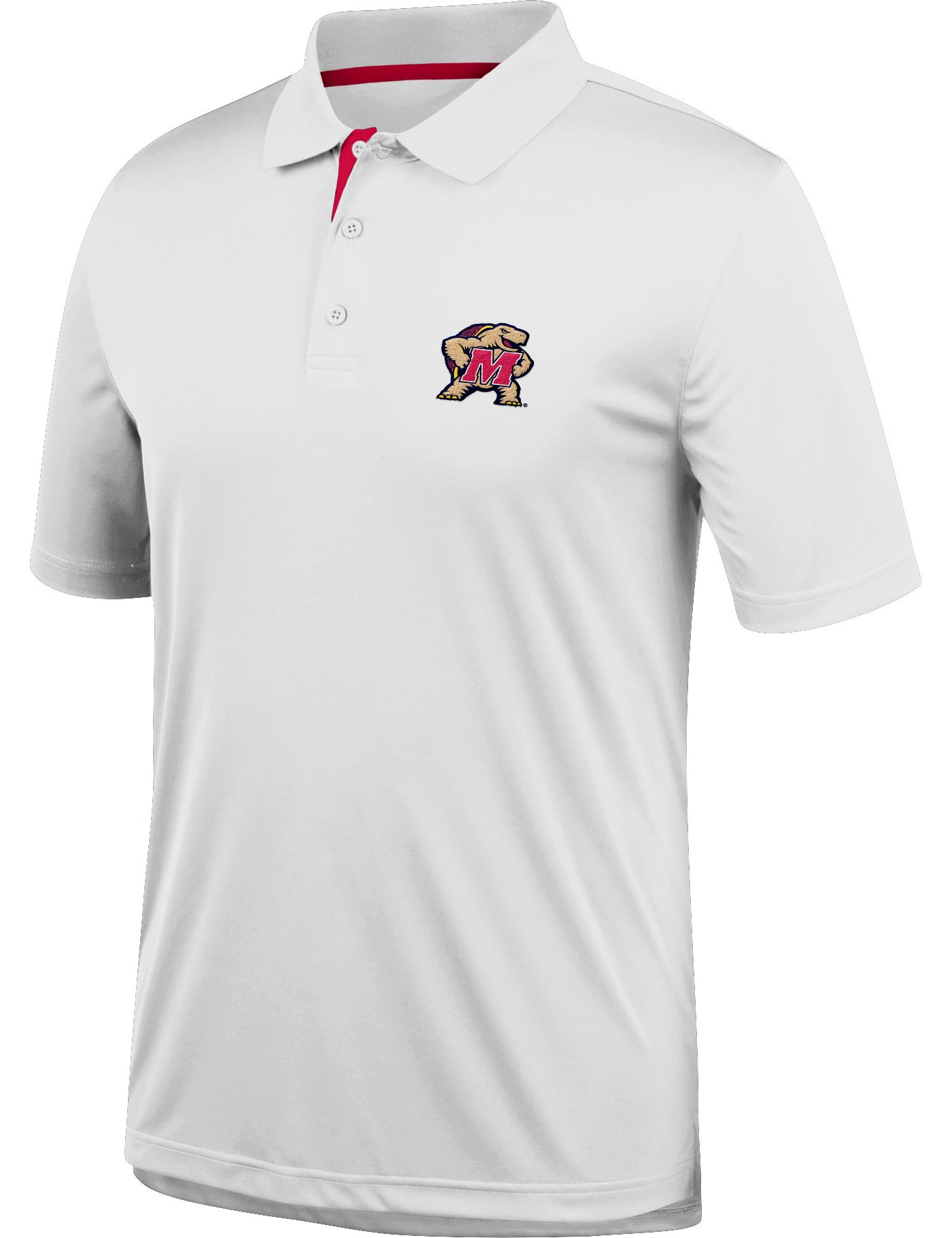 Top of the World Men's Maryland Terrapins Spector White Polo