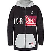 Jordan Boys' 23 Deconstructed Full Zip Hoodie