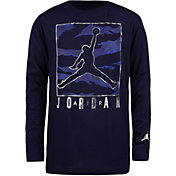Jordan Boys' Boxed Camo Long Sleeve Shirt