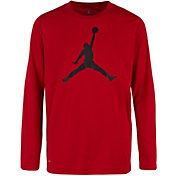 Jordan Boys' 23 Dry Jumpman Long Sleeve Shirt
