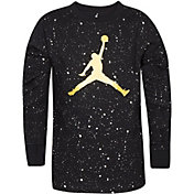 Jordan Boys' Speckle Long Sleeve Shirt