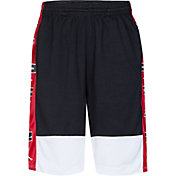 068f405a75139f Product Image · Jordan Boys  Dry Air Rise Shorts · Black Gym Red