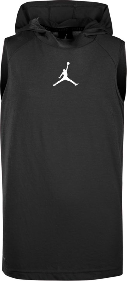 e1dd1d7c5551f Jordan Boys  Dry 23 Alpha Fitted Sleeveless Hoodie