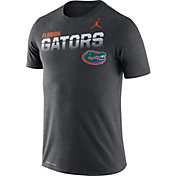 Jordan Men's Florida Gators Grey Legend Football Sideline T-Shirt