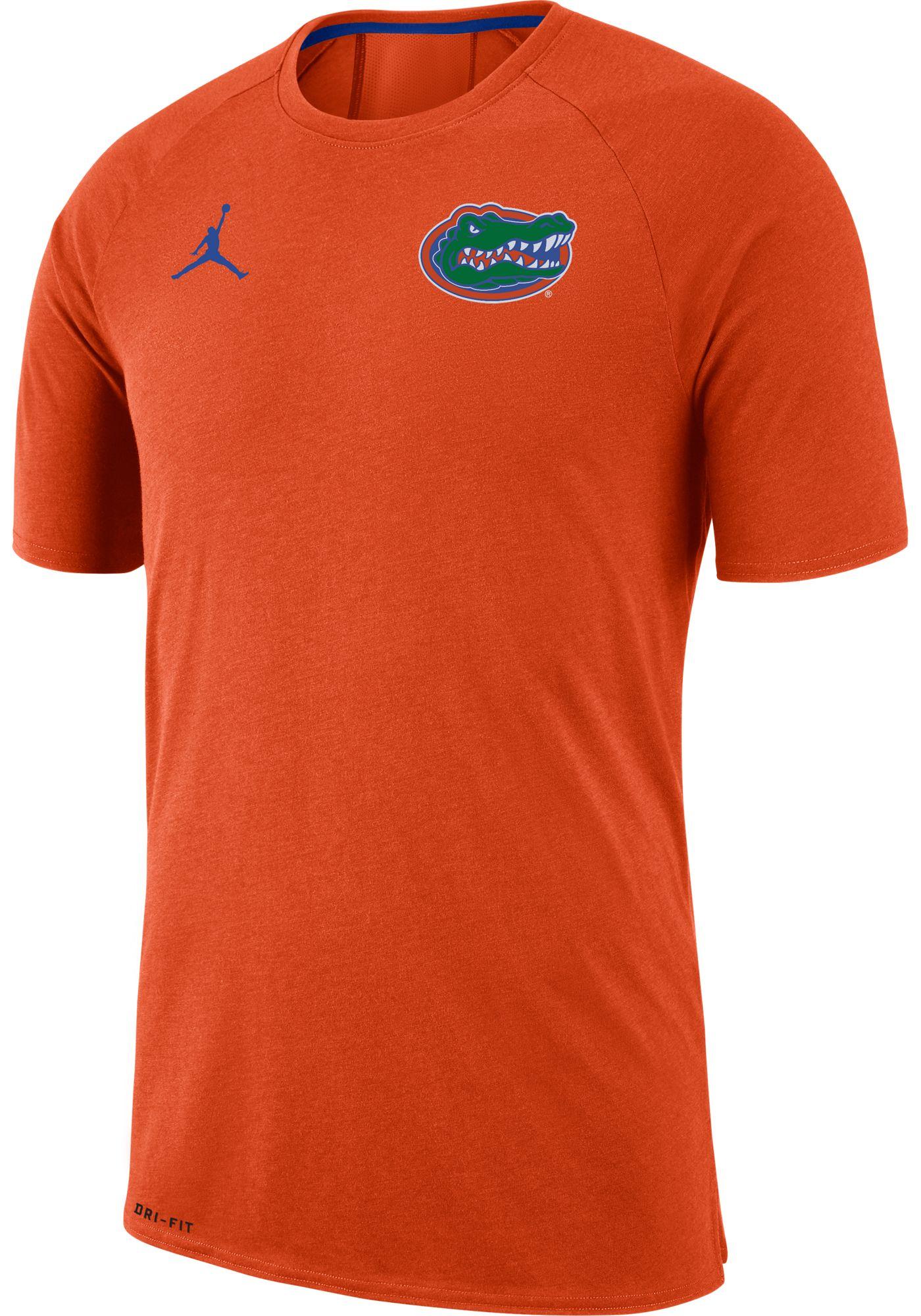 Jordan Men's Florida Gators Orange Dri-FIT 23 Alpha T-Shirt