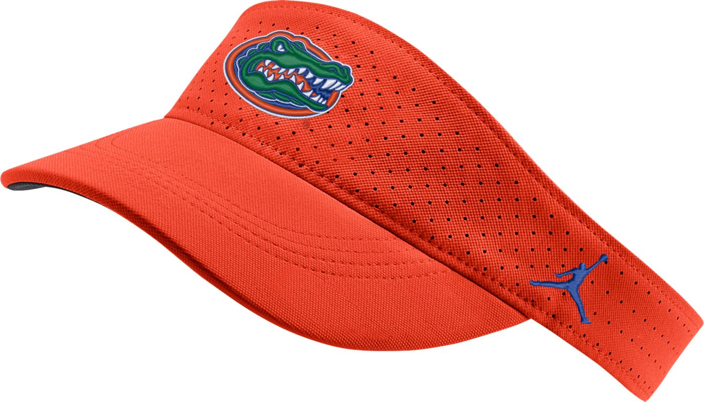 Jordan Men's Florida Gators Orange AeroBill Football Sideline Visor