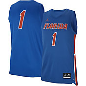 Jordan Men's Florida Gators Blue #1 Replica Basketball Jersey