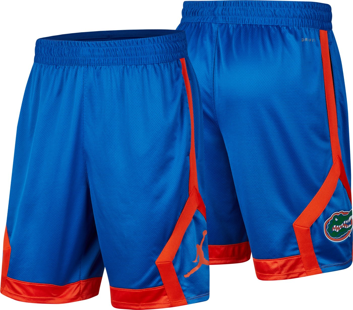 Jordan Men's Florida Gators Blue Knit Shorts
