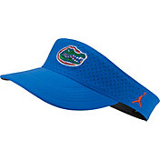 Jordan Men's Florida Gators Blue AeroBill Football Sideline Visor