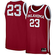 Jordan Men's Oklahoma Sooners Crimson #23 Replica Basketball Jersey