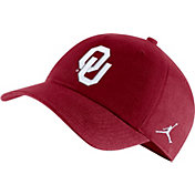 Jordan Men's Oklahoma Sooners Crimson Heritage86 Logo Hat