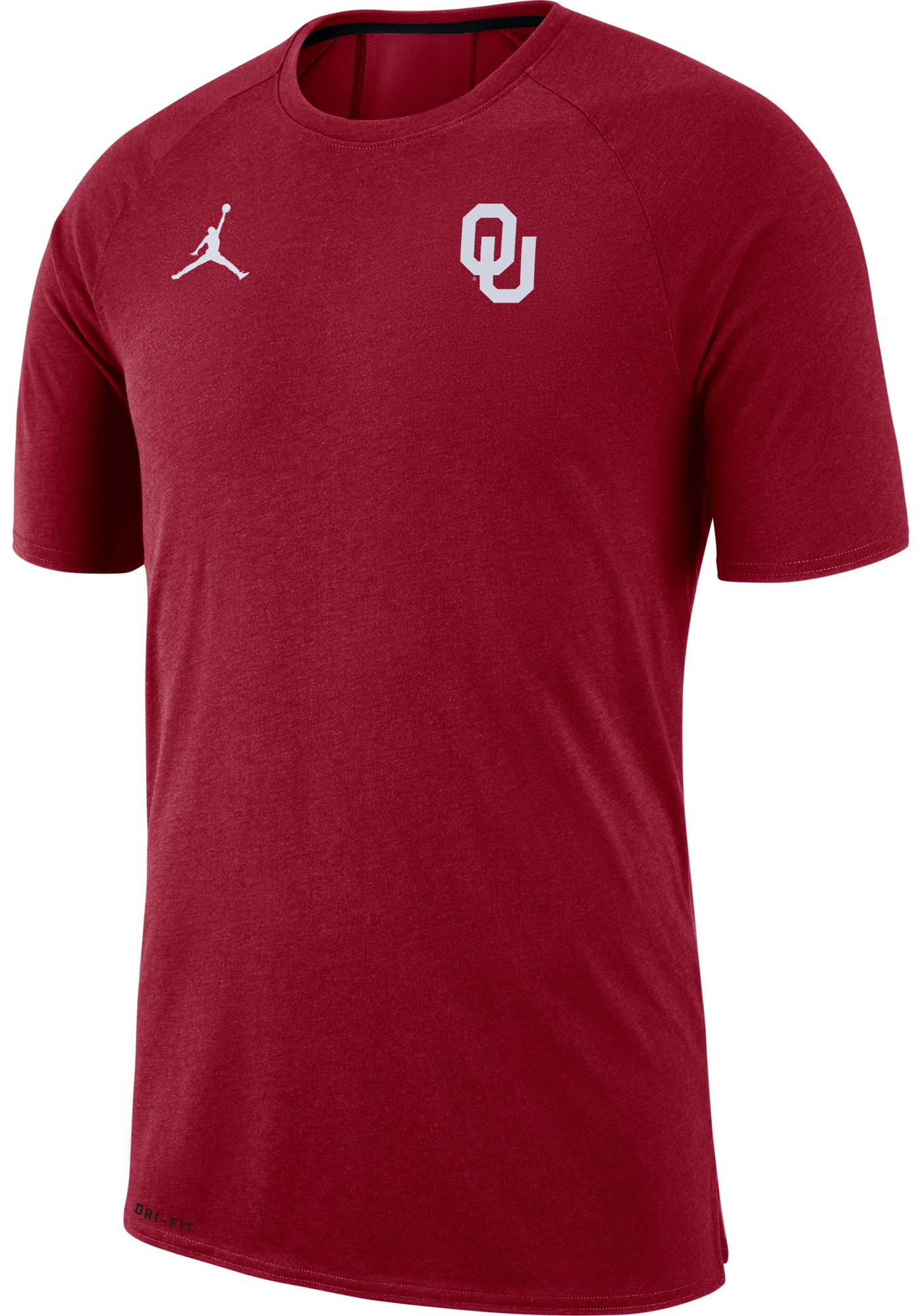 Jordan Men's Oklahoma Sooners Crimson Dri-FIT 23 Alpha T-Shirt
