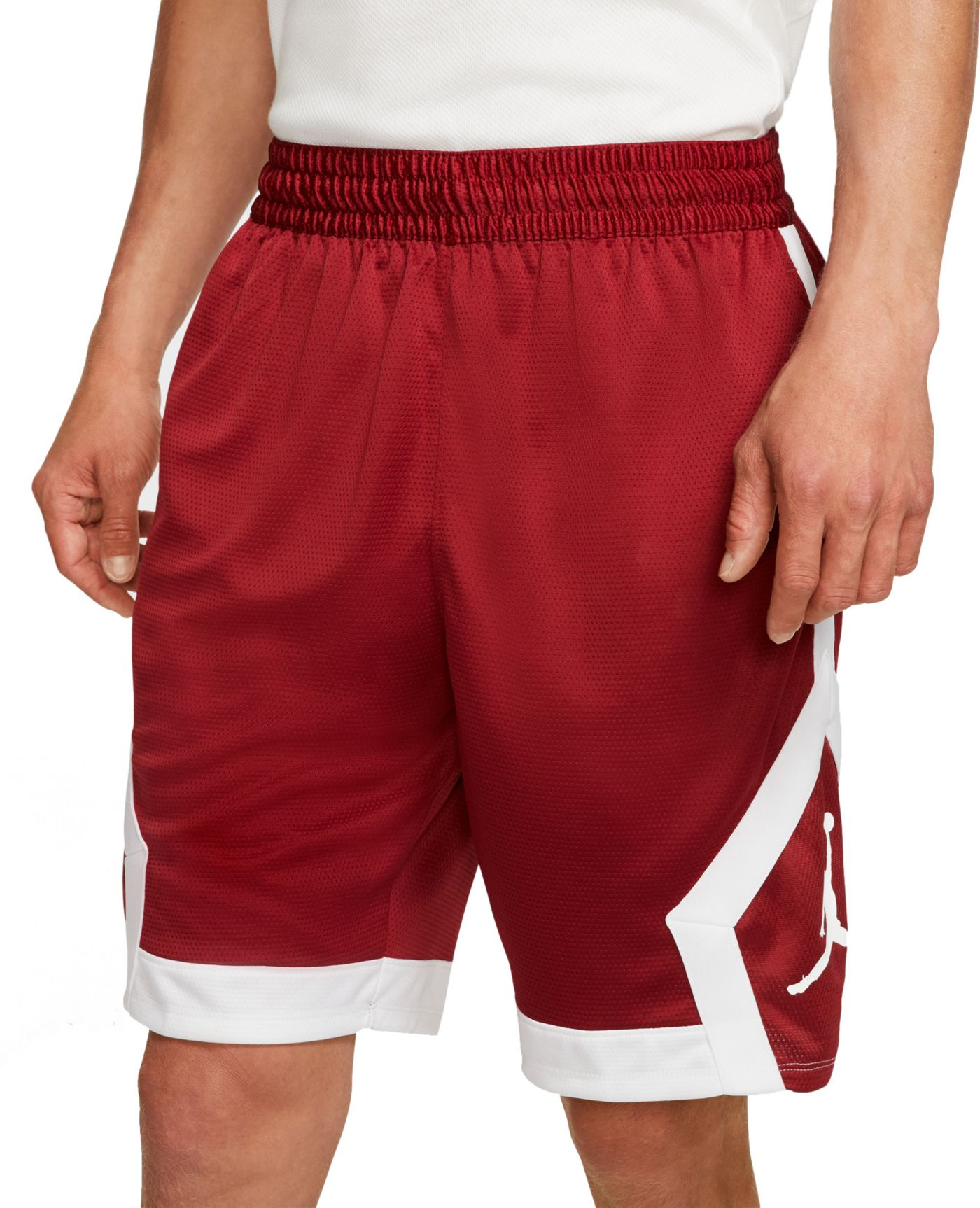 Jordan Men's Oklahoma Sooners Crimson Knit Shorts