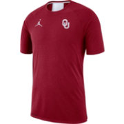 06b63ee7908c5e Jordan Men s Oklahoma Sooners Crimson Alpha Dri-FIT T-Shirt