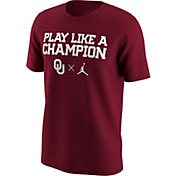 Jordan Men's Oklahoma Sooners Crimson Jumpman X T-Shirt