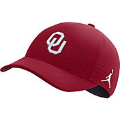 Jordan Men's Oklahoma Sooners Crimson Legacy91 Adjustable Hat