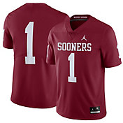 Jordan Men's Oklahoma Sooners #1 Crimson Limited Football Jersey