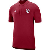 Jordan Men's Oklahoma Sooners Crimson Dri-FIT Elite Football Sideline Polo