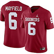 Jordan Men's Baker Mayfield Oklahoma Sooners #6 Crimson Replica College Alumni Jersey
