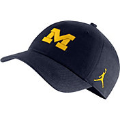 f0daab9071f4fb Product Image · Jordan Men s Michigan Wolverines Blue Heritage86 Logo Hat