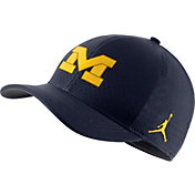Jordan Men's Michigan Wolverines Blue Aerobill Classic99 Football Sideline Hat