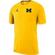 Jordan Men's Michigan Wolverines Maize Dri-FIT 23 Alpha T-Shirt
