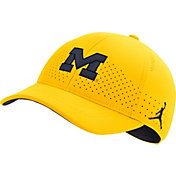 Jordan Men's Michigan Wolverines Maize Legacy91 Adjustable Hat
