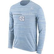 Jordan Men's North Carolina Tar Heels Carolina Blue Velocity Legend Graphic Long Sleeve T-Shirt