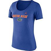 Jordan Women's Florida Gators Blue Mantra T-Shirt