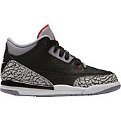 Jordan Kids' Preschool Air Jordan 3 Retro Basketball Shoes