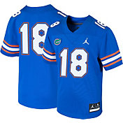 Jordan Boys' Florida Gators #18 Blue Game Football Jersey