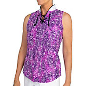 Jofit Women's Sleeveless Reflex Cutaway Golf Polo