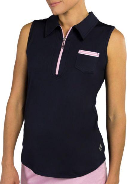 Jofit Women's Sleeveless Pocket Golf Polo