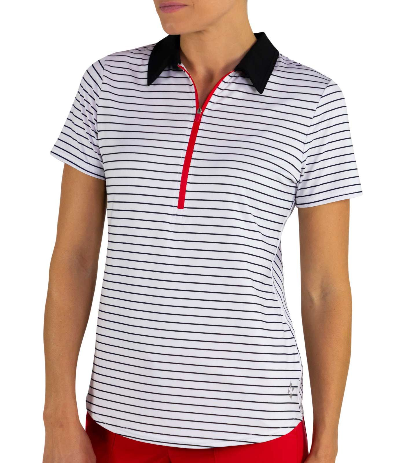 Jofit Women's Zip Golf Polo