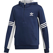 adidas Originals Boys' Authentics 1/2 Zip Hoodie