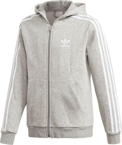 Boys' Originals Trefoil Full Adidas Hoodie Zip tQdxsrCh